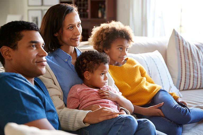 family-warm-inside